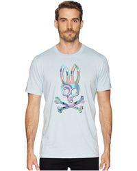 Psycho Bunny - Graphic Tee (heather Ice) Men's Clothing - Lyst