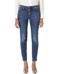 Nicole Miller - Soho High-rise In Singer (singer Wash) Women's Jeans - Lyst