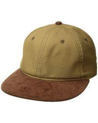 386bb739df6b8 Rag   Bone - Dylan Baseball Cap (tan Wax) Baseball Caps - Lyst