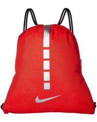 Nike - Hoops Elite Gymsack - 2.0 (black black metallic Cool Grey) b0f4aeaa8b8f4