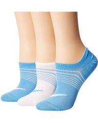 Nike - 3-pair Pack Lightweight Footie (multicolor 16) Women's No Show Socks Shoes - Lyst