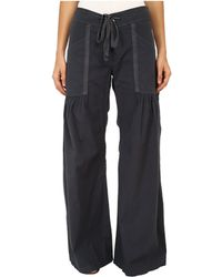 XCVI - Willow Wide Leg Stretch Poplin Pants (cloud) Women's Casual Pants - Lyst