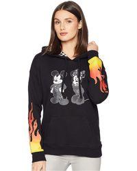 Vans - Mickey's 90th Punk Mickey Hoodie (black) Women's Sweatshirt - Lyst