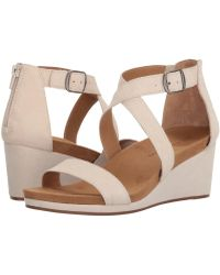 ed8d5401d26 Lyst - Lucky Brand Ulyssas (black) Women s Shoes in Brown