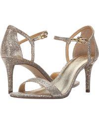 18af74d14fed MICHAEL Michael Kors - Simone Mid Sandal (black Patent) Women s Sandals -  Lyst