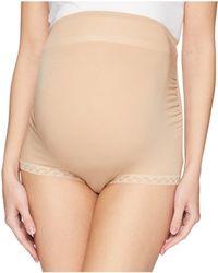 Natori - Bliss Maternity Full Panel Boyshorts (black) Women's Underwear - Lyst