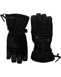 Spyder - Eiger Gore-tex(r) Ski Gloves (black/black) Ski Gloves - Lyst