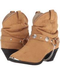 Dingo - Fiona (navy) Cowboy Boots - Lyst