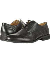 Nunn Bush - Slate Wing Tip Dress Casual Oxford (black) Men's Lace Up Wing Tip Shoes - Lyst