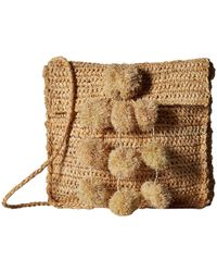Hat Attack - Everyday Crossbody With Mini Poms - Lyst