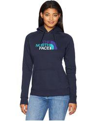 The North Face - Half Dome Pullover Hoodie (urban Navy Multi) Women's Sweatshirt - Lyst