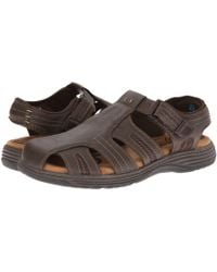 768f5950a5ed Lyst - Teva Men s Forebay 2 Closed Toe Sandal in Brown for Men