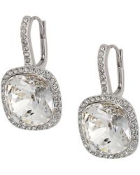 Swarovski - Lattitude Pierced Earrings - Lyst