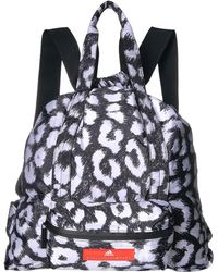 8a60006b65 adidas By Stella McCartney - Gymsack P (black white) Backpack Bags - Lyst
