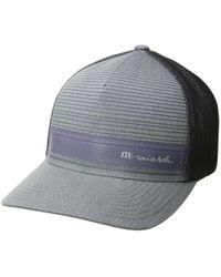 Lyst - Travis Mathew Circular (heather Grey) Caps in Gray for Men da7557c27d6f