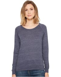 Alternative Apparel   Eco-heather Slouchy Pullover   Lyst