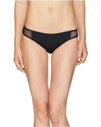 Vilebrequin - Solid Net Faustine Bottoms (black) Women's Swimwear - Lyst