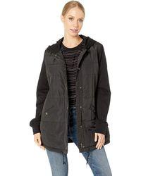 RVCA - Pidy Jacket (black) Women's Coat - Lyst