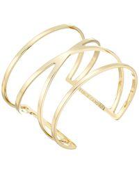 Vince Camuto - Double V Cuff Bracelet (gold) Bracelet - Lyst