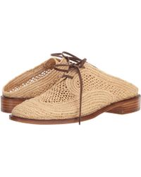 Clergerie - Jaly (natural Raffia) Women's Shoes - Lyst