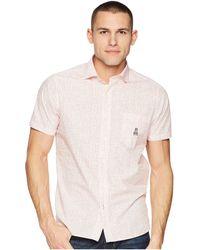 Psycho Bunny - Short Sleeve Cotton Sport Shirt - Lyst