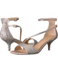 Badgley Mischka - Tangerine (silver) Women's Shoes - Lyst