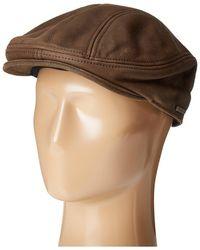 Stetson - Oily Timber Leather Ivy (black) Traditional Hats - Lyst