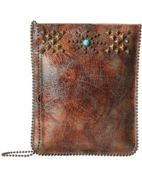 Leatherock - Cp62 (dakota Patina/amber) Handbags - Lyst