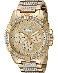 Guess - U0799g2 (gold) Sport Watches - Lyst