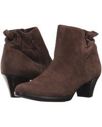 Munro - Alfie (greige Suede) Women's Pull-on Boots - Lyst
