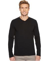 Mod-o-doc - Cardiff Long Sleeve Jersey V-neck Tee (new Navy) Men's T Shirt - Lyst