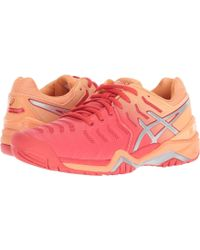 a1506a497d09 Lyst - Asics Gel-resolution 7 Clay Court (white silver) Women s ...