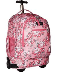 Jansport - Driver 8 (prism Pink Pretty Posey) Backpack Bags - Lyst