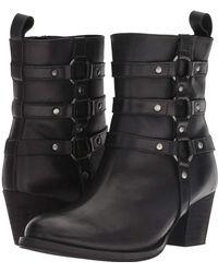 Dingo - Noir (black Leather) Cowboy Boots - Lyst