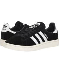 adidas Originals - Campus (black/white/chalk White) Men's Classic Shoes - Lyst