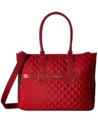 Hedgren - Diamond Andreia Tote (red) Tote Handbags - Lyst