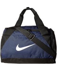 607c923d7de4 Nike - Brasilia Duffel Extra Small (game Royal black white) Duffel Bags