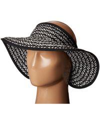 San Diego Hat Company - Ubv007 Adjustable Roll Up Visor With Ribbon Edge - Lyst