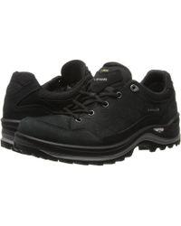 Lowa - Renegade Iii Gtx(r) Lo Ws (black) Women's Shoes - Lyst