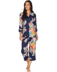 Lauren by Ralph Lauren - His Shirt Capris Pajama Set - Lyst