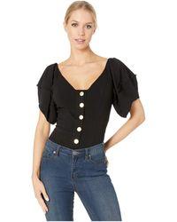 4f7647a080d Free People - Not Basic Bodysuit (black) Women s Jumpsuit   Rompers One  Piece -