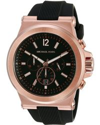 db75f4bfdcf5 Michael Kors - Mk8184 Dylan Watches (rose Gold black) Watches - Lyst
