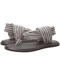 Sanuk - Yoga Sling 2 Prints (natural Tye Dye) Women's Sandals - Lyst