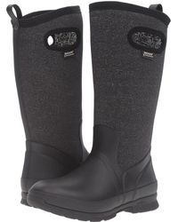 Bogs - Crandall Tall (black Multi) Women's Waterproof Boots - Lyst