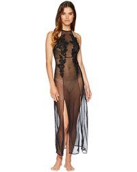 Bluebella - Coraline Long Chemise (black) Women's Clothing - Lyst