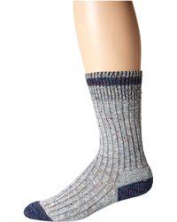 Wigwam - Fireside (grey) Crew Cut Socks Shoes - Lyst