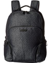 Vera Bradley - Iconic Backpack (classic Navy) Backpack Bags - Lyst