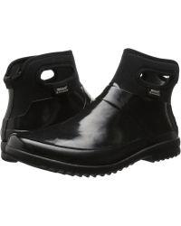 Bogs - Seattle Solid Mid (black) Women's Rain Boots - Lyst