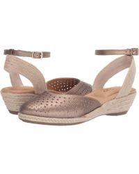 Me Too - Norina (mink Metallic) Women's Dress Flat Shoes - Lyst