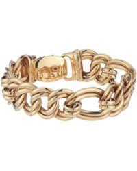 Roberto Coin - 18k Flat Curb Link Bracelet - Lyst